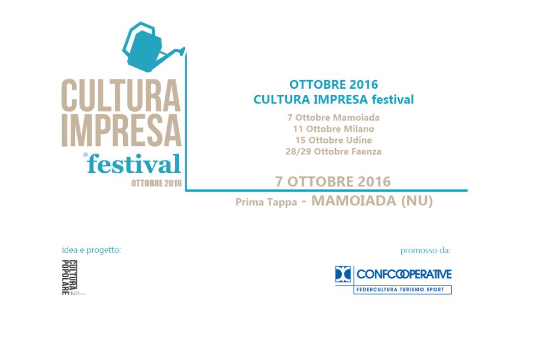 Apre in Sardegna l'edizione 2016 di Cultura Impresa Festival