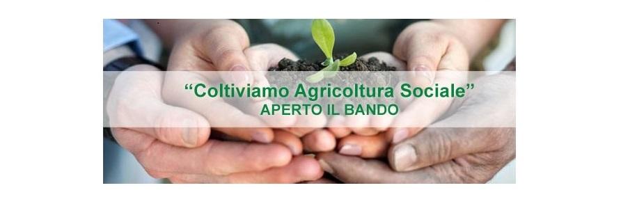 """Coltiviamo Agricoltura Sociale""- Bando Confagricoltura 40 mila euro a fondo perduto"