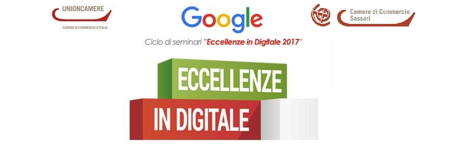 """Progetto """"Eccellenze in Digitale"""" 2017 – 2° Seminario il 25 Settembre"""