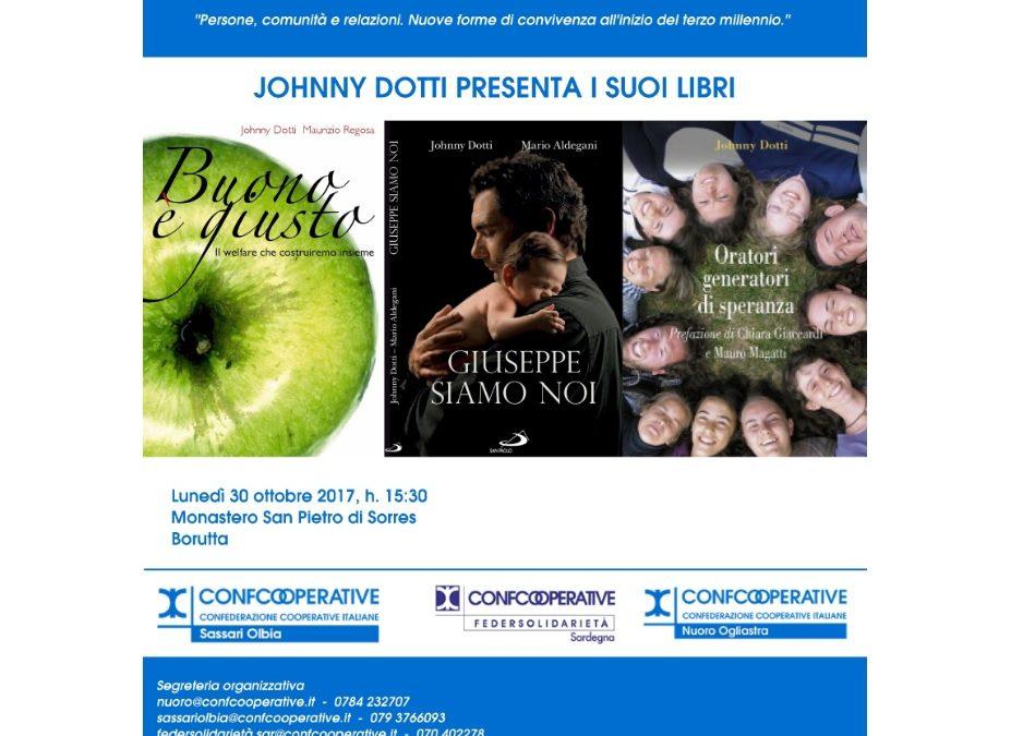 Presentazione libri Johnny Dotti | Borutta, 30 ottobre 2017 ore 15:30
