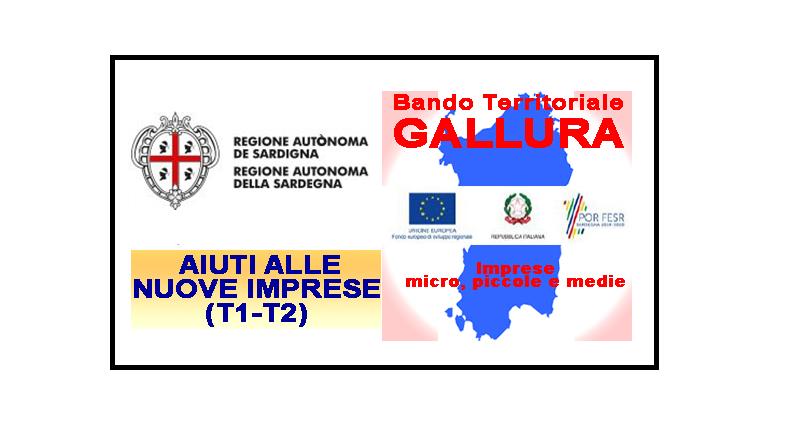 """Bando territoriale """"Competitività per le MPMI della Gallura nei settori dei servizi al turismo, ricettività e qualità della vita"""" (Ni-T1-T2)"""