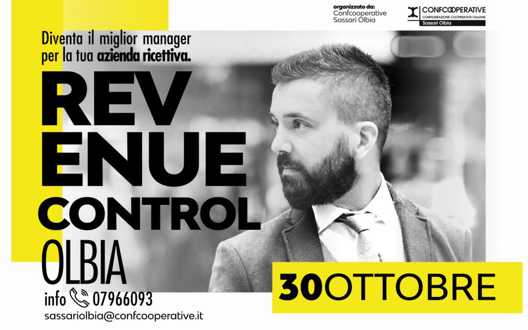 """Olbia 30 ottobre 2017 Workshop """"REVENUE CONTROL """"Diventa il miglior Manager per la tua azienda ricettiva"""""""