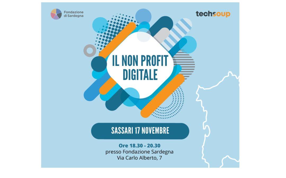 Sassari 17 novembre 2017 – ore 18:30. TechSoup – Il No Profit Digitale