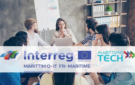 Bando per la partecipazione all'Acceleratore Transfrontaliero di Startup nell'ambito del Progetto comunitario MarittimoTech