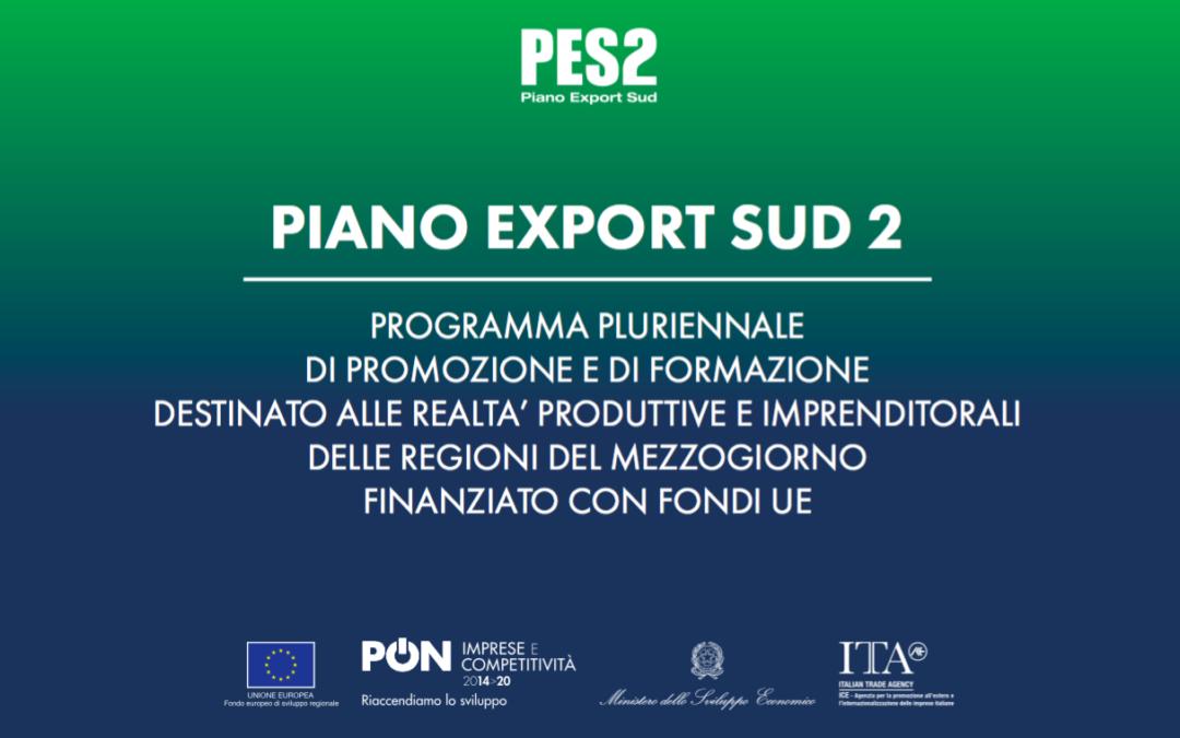 Piano Export Sud 2 – Gli eventi in programma dal 12 al 21 marzo 2018 in Sardegna.