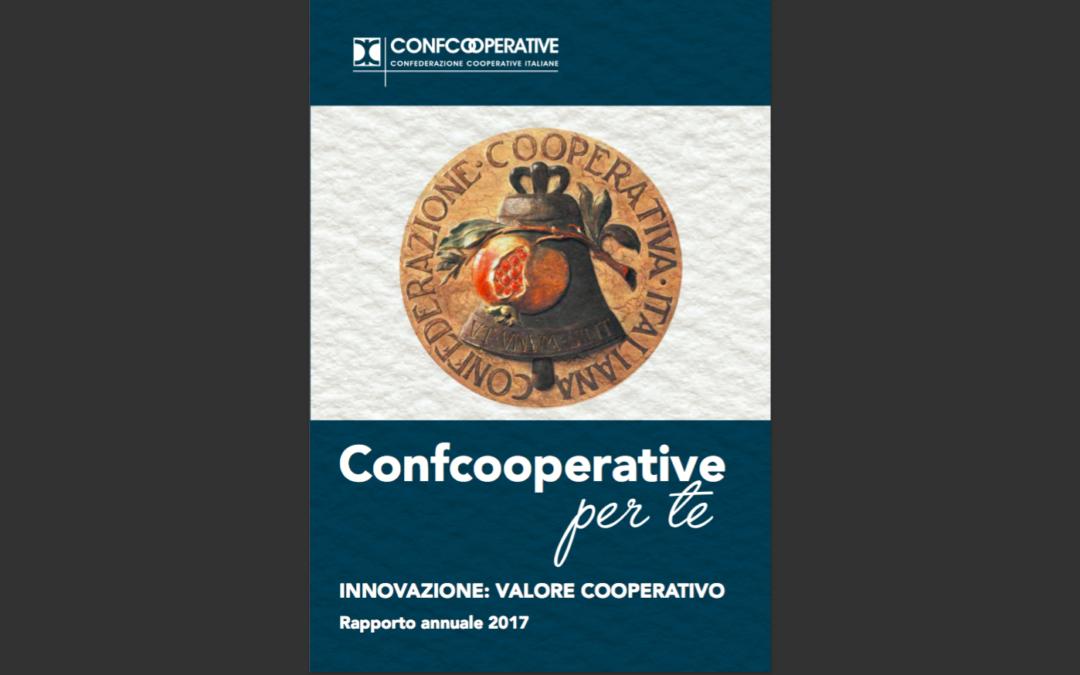 """Confcooperative per te"" Report annuale 2017"