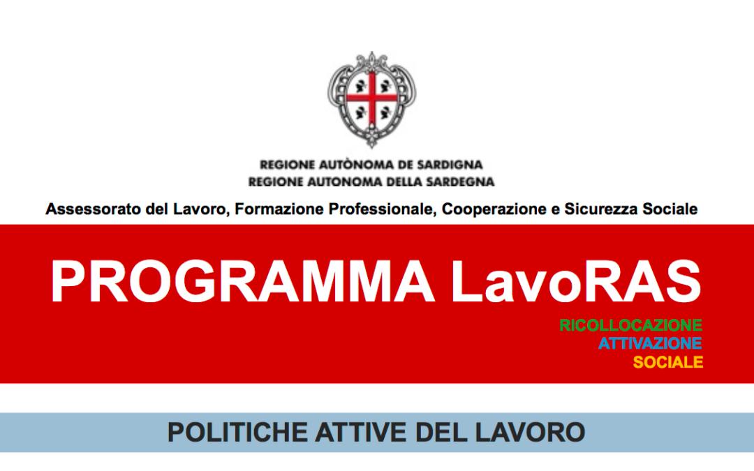 LavoRas, approvato il Progetto Regionale dedicato alle imprese per favorire nuove assunzioni.