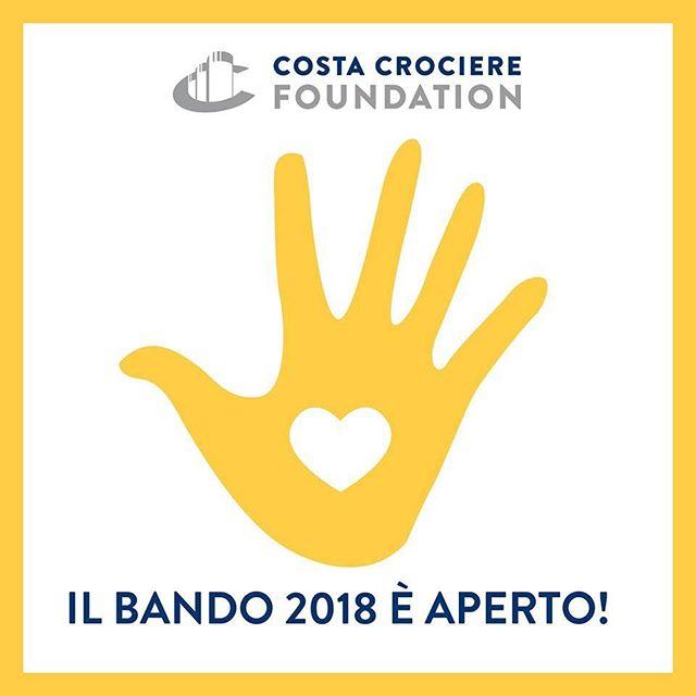 Costa Crociere Foundation- Bando 2018 a favore di organizzazioni no profit.