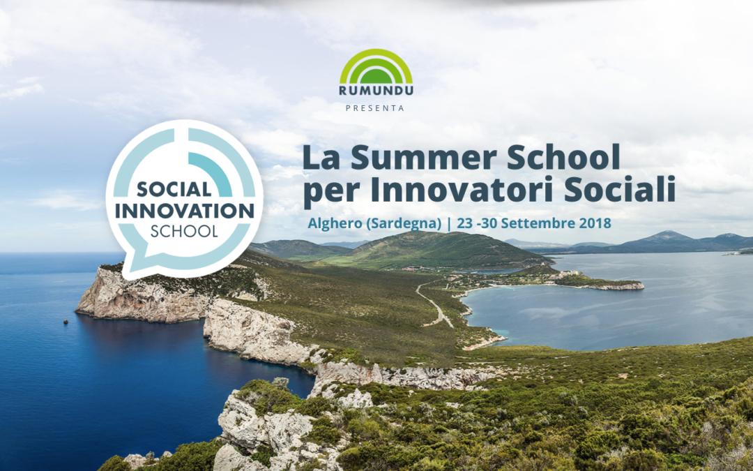 Dal 23 al 30 Settembre riparte la Summer School per Innovatori Sociali
