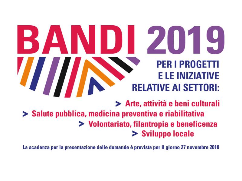 La Fondazione di Sardegna ha reso noti i Bandi Annuali per il 2019. Le domande andranno presentate entro il 27 novembre 2018.