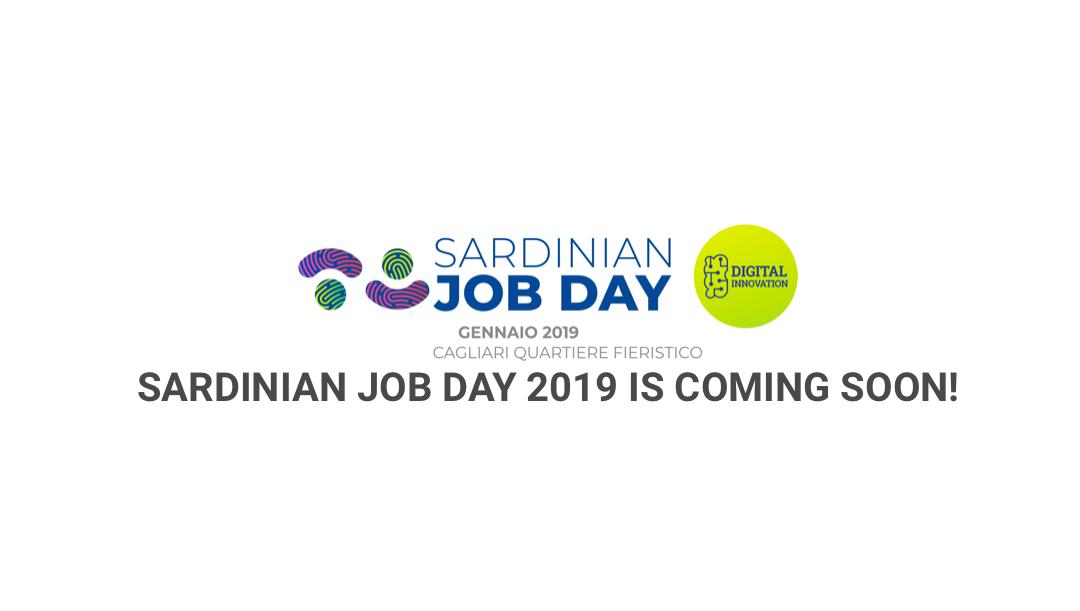 Sardinian Job Day – Digital Innovation 2019: CALL PER LE IMPRESE!