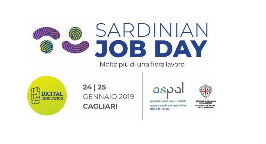 Si svolgerà a Cagliari il 24 e il 25 gennaio il Sardinian Job Day: l'edizione 2019 è incentrata su innovazione digitale e su incidenza dei processi di trasformazione tecnologica nell'organizzazione del lavoro e nelle professioni.