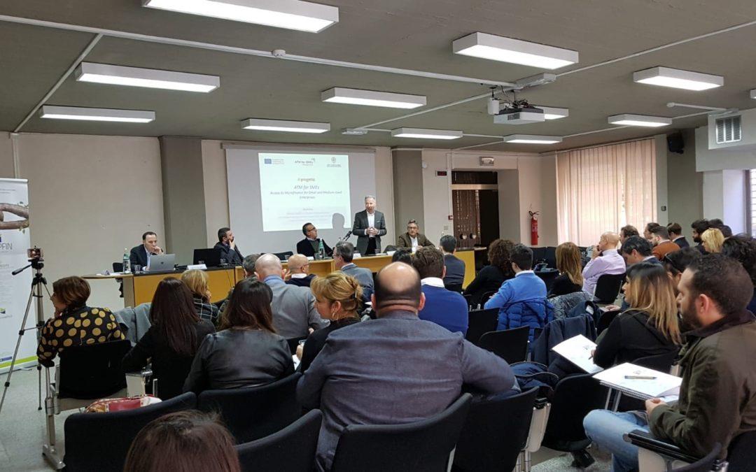 """Workshop """"Microcredito e nuova imprenditoria"""": Coop.fin e le opportunità di accesso al credito in Sardegna."""