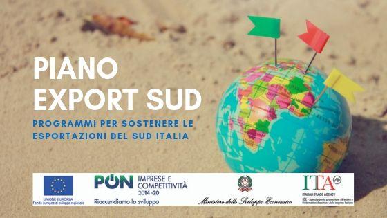 Piano Export Sud: sostegno ai progetti di promozione dell'export