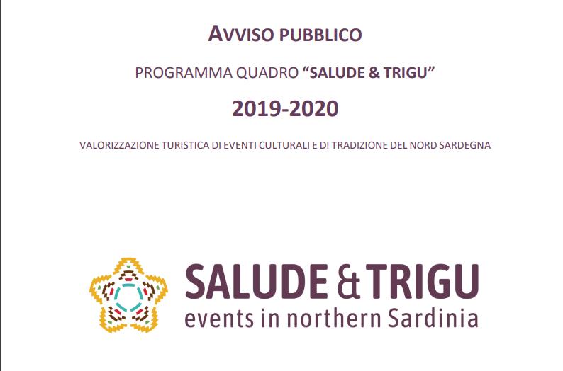 """""""SALUDE & TRIGU"""" – presentazione delle domande entro il 15 ottobre 2019"""