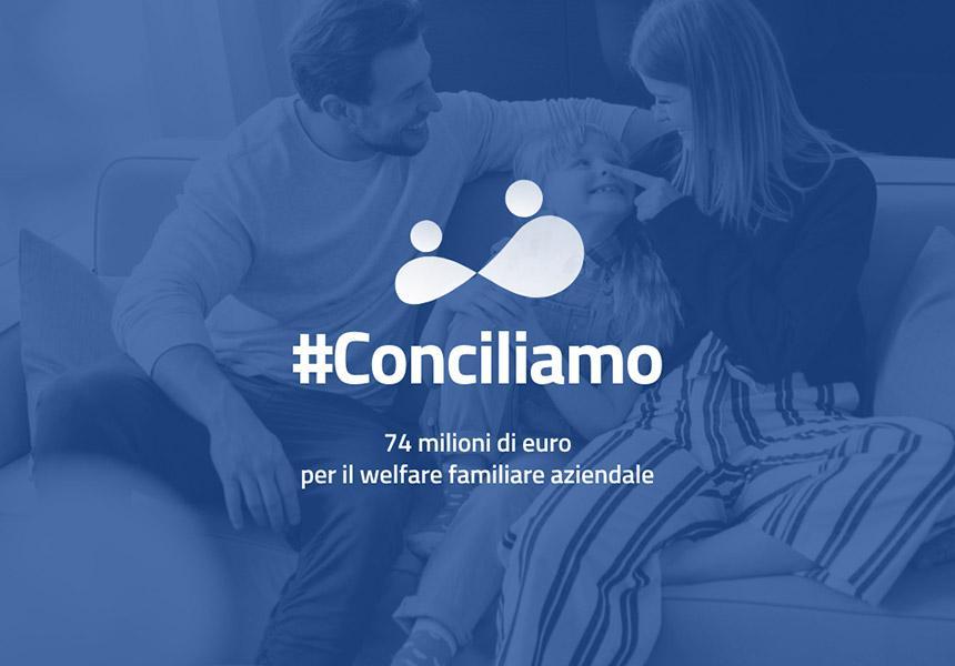 Bando #Conciliamo – Finanziamenti per la realizzazione di progetti di welfare aziendale
