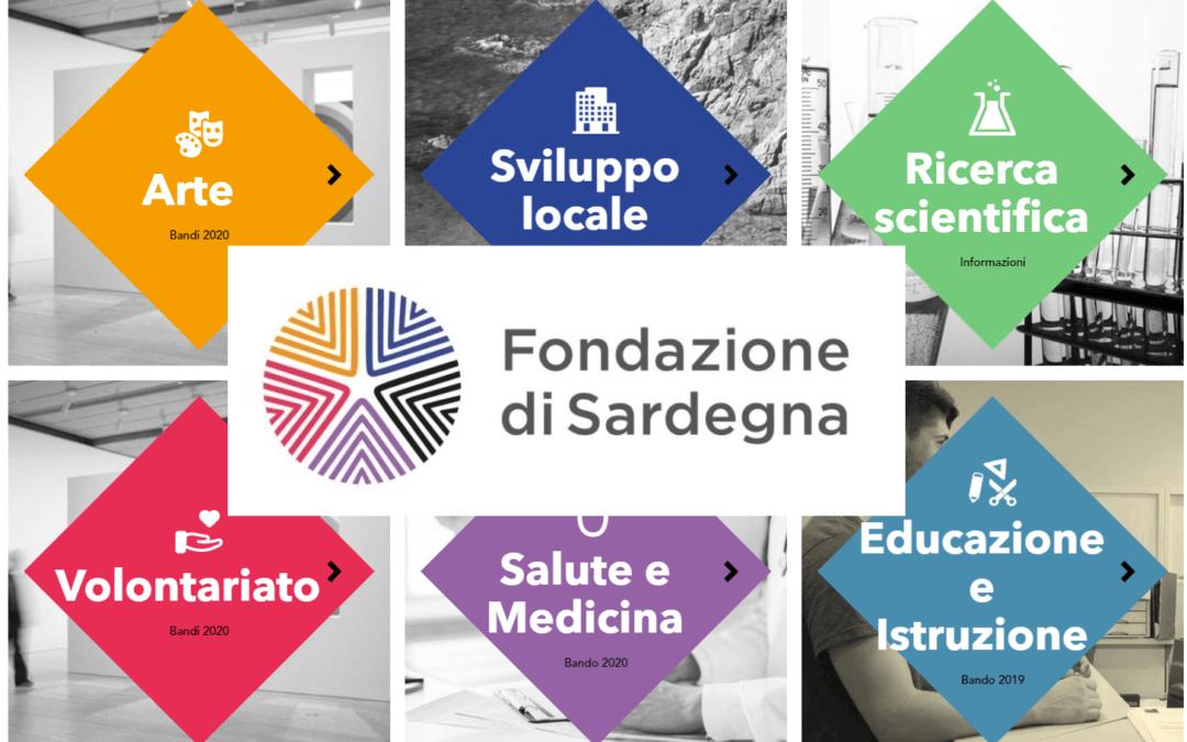Online i Bandi annuali 2020 della Fondazione di Sardegna: la scadenza per presentare le proposte di progetto è fissata il 26 novembre 2019.