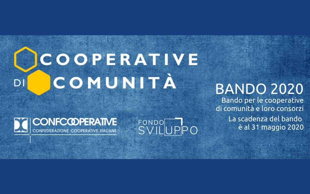 BANDO 2.0 per le COOPERATIVE DI COMUNITÀ – Fondosviluppo premia le cooperative di comunità, neo costituite o già attive, e loro consorzi.