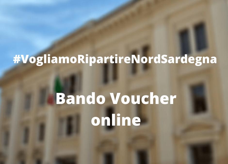 Bando voucher #VogliamoRipartire – Dalla Camera di Commercio un sostegno economico alle imprese del Nord Sardegna