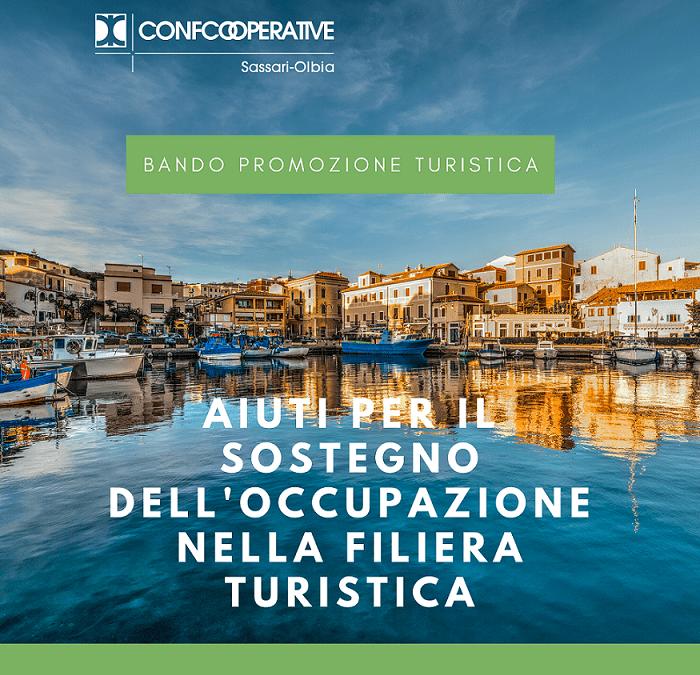 """Promozione turistica – Dalla Regione Sardegna """"Aiuti per il sostegno dell'occupazione nella filiera turistica"""""""
